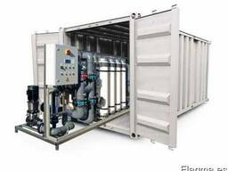 Modular water treatment systems in containers - photo 1