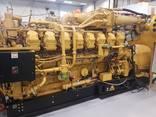 Б/У газовый двигатель Caterpillar 3520, 2014 г. ,2 Мвт - photo 4