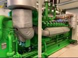 Б/У газовый двигатель Jenbacher JGS 420, 1412 Квт, 2005 г. - photo 1