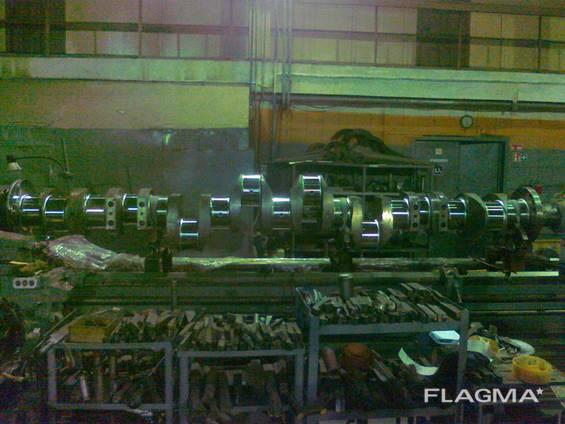 Crankshaft for MAN B&W 8L 32/40