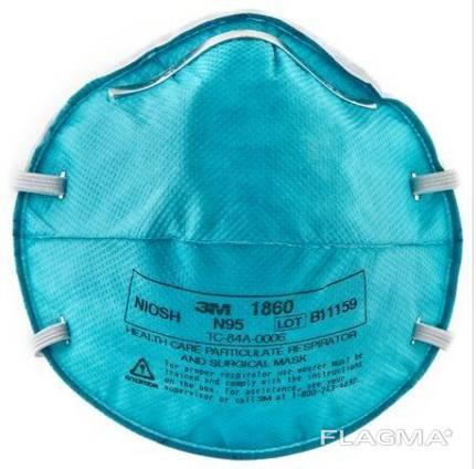 El respirador de media máscara que filtra 3M 1860