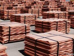 Electrolytic Copper Cathodes Grade A, - 15% LME FOB