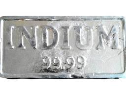 Lingotes de indio | marca de metal indio InOO GOST 10297-94