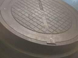 Люк смотровых колодцев полимерпесчаный