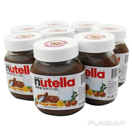 Nutella chocolate available in great quantities