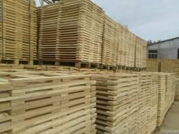 Поддон, паллет деревянный новые - фото 2