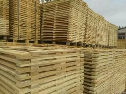 Поддон, паллет деревянный новые - фото 3