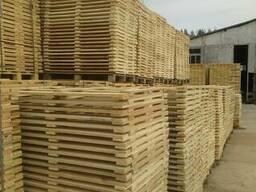 Поддон, паллет деревянный новые - фото 7
