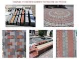 Блок-машина для производства тротуарной плитки R-400 Швеция - фото 7