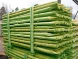 Rounded pine pillars, fences, palisades - фото 2
