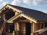 Срубы домов из дерева под рубанок - фото 3