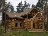 Срубы домов из дерева под рубанок - фото 6