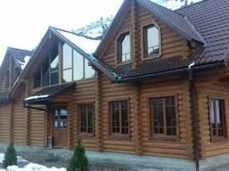 Строительство деревянных домов. - фото 1